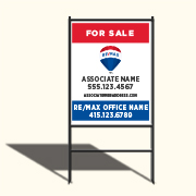 Remax lawn sign 24 x 32